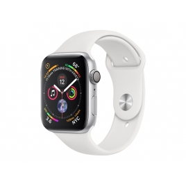 Apple Watch Serie 4 GPS 44MM Silver Aluminium + Correa Sport White