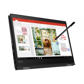 "Portatil 360 Lenovo Thinkpad X390 Yoga CI7 8565U 8GB 512GB SSD 13.3"" FHD W10P Black"