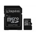 Memoria Micro SD Kingston 32GB Class 10 80Mpbs + Adaptador