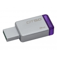 Memoria USB 3.1 Kingston 8GB DT50 Silver/Purple