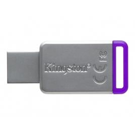 Memoria USB 3.1 Kingston 8GB DT50 Silver/Purple