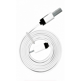 Cable Kablex USB 2.0 a Macho / Apple Lightning Macho 1M White