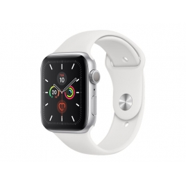 Apple Watch Serie 5 GPS 44MM Silver Aluminium + Correa Sport White