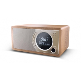 Radio Despertador Sharp DR-450 LCD Display Brown