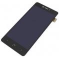 Pantalla LCD + Digitalizadora + Marco para Bq Aquaris U / U Lite Black
