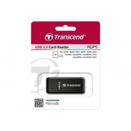 Lector Memorias Transcend TS-RDP5K 9 EN 1 USB 2.0
