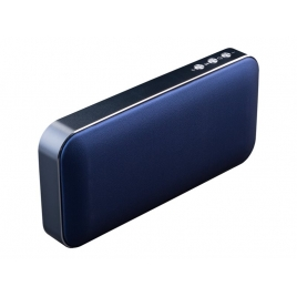 Altavoz Bluetooth Hiditec Harum 10W SD + Powerbank Cobalt Blue