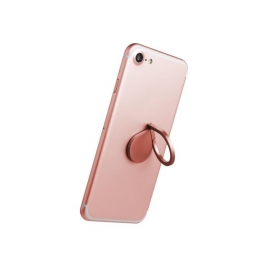 Anillo Giratorio Celly Smartphone Rose Gold