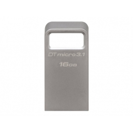 Memoria USB 3.1 Kingston 16GB Dtmc3 Micro Silver