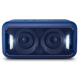 Altavoz Bluetooth NFC Sony Extra Bass Party Chain + LUZ LED Blue