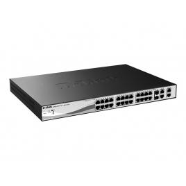 Switch D-LINK DES-1210-28P 10/100 24 Puertos + 2 10/100/1000 + 2 SFP