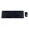 Teclado + Mouse Hiditec Wireless KM400 PRO Black