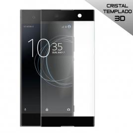 Protector de Pantalla HT Cristal Templado 3D Black para Sony Xperia XA1