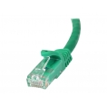 Cable Startech red RJ45 CAT 6 1M Green