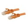 Cable Startech red RJ45 CAT 6 1M Orange