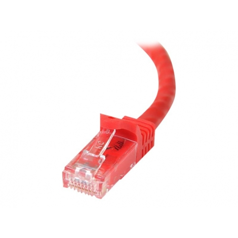 Cable Startech red RJ45 CAT 6 1M red