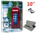"Funda Tablet HT Universal Rotate 360 10"" London"