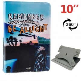 "Funda Tablet HT Universal Rotate 360 10"" Remember"