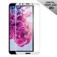 Protector de Pantalla HT Cristal Templado 3D White para Huawei Mate 10 Lite