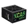 Fuente de Alimentacion ATX 600W Aerocool Kcas 600S PFC Activo 80+ Bronce