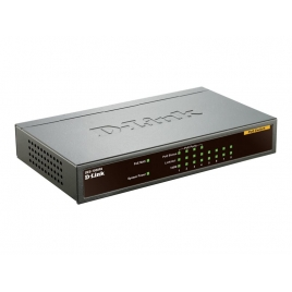 Switch D-LINK DES-1008PA 10/100 8 Puertos POE