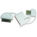 Cable Muvit USB Datos/Carga iPhone 30 PIN Llavero White