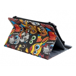 "Funda Tablet E-VITTA 7"" Stand 3P Urban Trendy Animals"