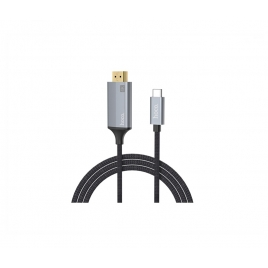 Cable Kablex HDMI 1.4 19 Macho / USB-C Macho 1.8M