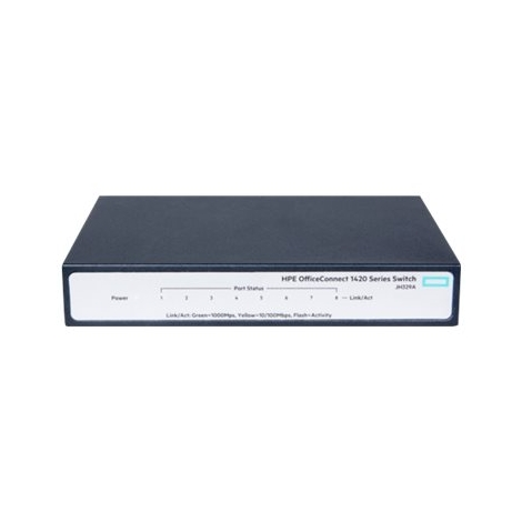 Switch HP 1420-8G 10/100/1000 8 Puertos