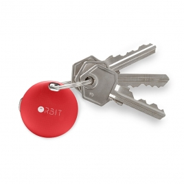 Llavero Bluetooth Orbit Keys red