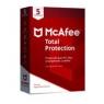 Antivirus Mcafee Total Protection 5 Dispositivos 1 año