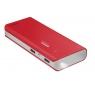 Bateria Externa Universal Trust 10.000MAH 2.1A USB red + Linterna