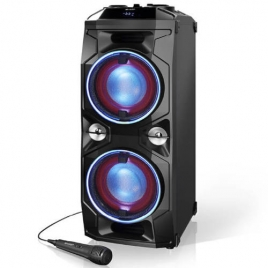 Altavoz Bluetooth Sharp Party Karaoke PS940 180W Black + Microfono