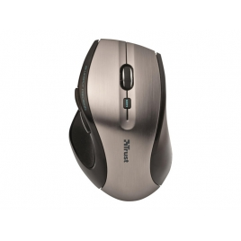 Mouse Trust Wireless Maxtrack 1600DPI Silver USB