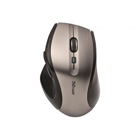 Mouse Trust Wireless Maxtrack 1600DPI Silver USB