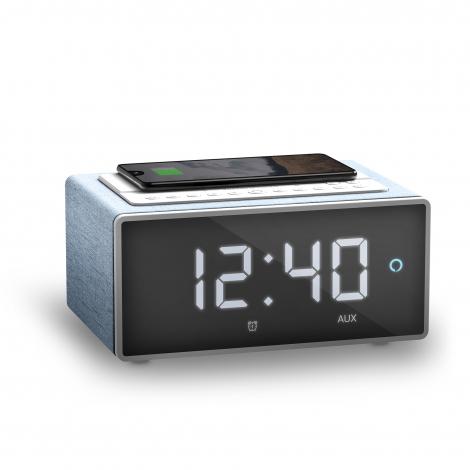 Radio Despertador Energy Smart Speaker Wake UP Wireless Charge QI Bluetooth Alexa