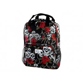 """Mochila Portatil E-VITTA 16"""" Style Backpack Skulls"""
