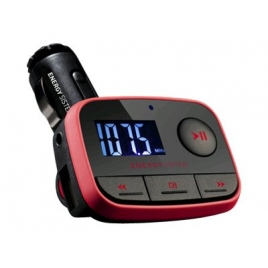 Transmisor FM Energy MP3 para Coche F2 Racing red