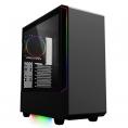 Caja Mediatorre ATX Deep Gaming Deep Vision Argb USB 3.0 Window Black
