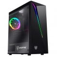Caja Sobremesa Matx Nfortec Lynx Gaming RGB Black