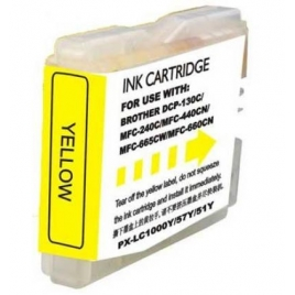 Cartucho Reciclado Inkoem Brother LC970 Yellow