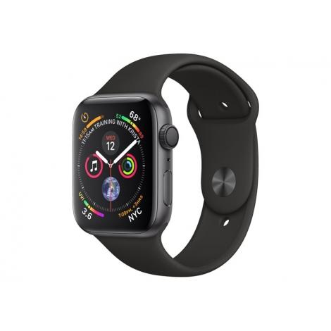 Apple Watch Serie 4 GPS 44MM Space Grey Aluminium + Correa Sport Black