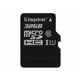Memoria Micro SD Kingston 32GB Class 10 80Mpbs