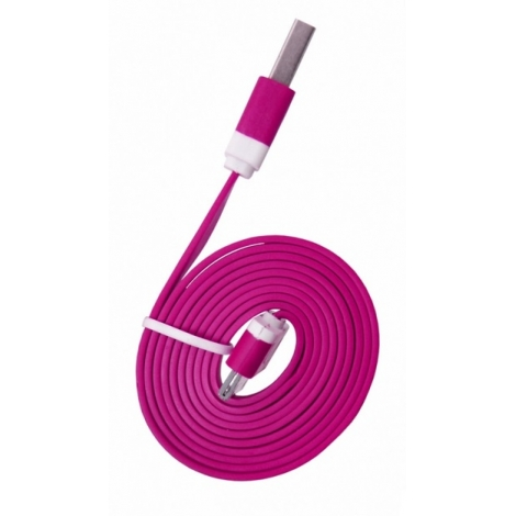 Cable Kablex USB 2.0 a Macho / Apple 30 PIN Macho 1M Pink