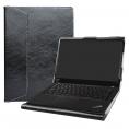 """Funda Protectora Alapmk Cuero PU Black para Thinkpad X390 Series 13.3"""""""