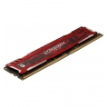DDR4 16GB BUS 2666 Crucial CL16 Ballistix Sport LT red