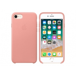 Funda iPhone 8 / 7 Apple Leather Case Soft Pink