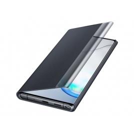 Funda Movil Samsung Flip Cover Clear View Black para Galaxy Note 10+