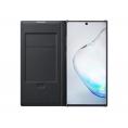 Funda Movil Samsung Flip Cover Clear View LED Black para Galaxy Note 10+