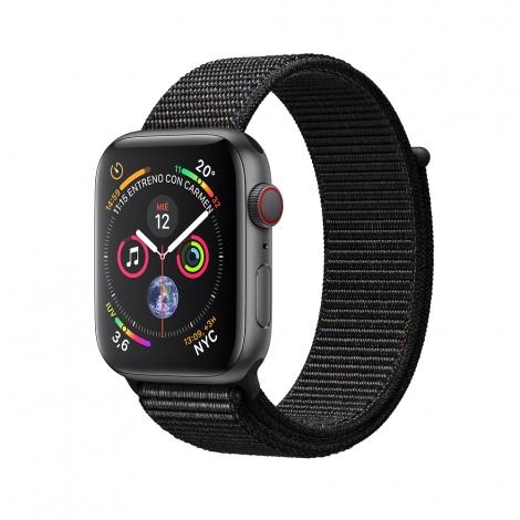 Apple Watch Serie 4 GPS + 4G 44MM Space Grey Aluminium + Correa Sport Loop Black